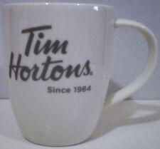 Tim Hortons Mug Silver Name Blue Interior Limited Edition 2014