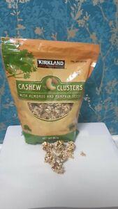 Kirkland FULL ENERGY SWEET Cashew Clusters & Almonds & Pumpkin Seeds, 907g
