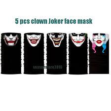 5pcs Face Shield Sun Mask Headwear UV Bandana Fishing Neck Gaiter Scarf Joker