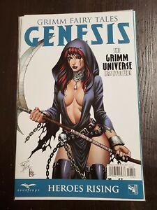 Grimm Fairy Tales: Genesis: Heroes Rising #1 VF 2016 Zenoscope Comic Cover E