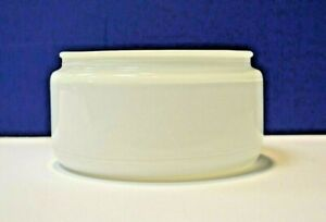 """Westinghouse White 5-3/4"""" Fitter Glass 6"""" Drum Shade 81614 NEW WOW!"""