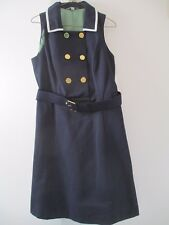 NWT Merona Collection Navy Style Dress Size 12 Navy Blue Lined Knee-Length Dress