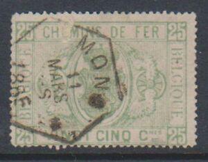 Belgium - 1879/82, 25c Railway Parcel Post - Used - SG P65