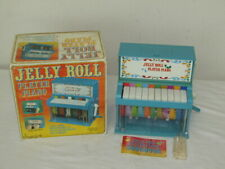 Vintage Janex 1978 Jelly Roll Player Piano Toy - READ