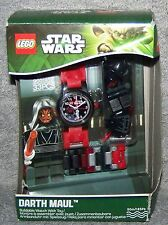 LEGO 2013 STAR WARS DARTH MAUL BUILDABLE WATCH WITH TOY SET