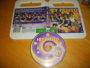 Hi-5 - HEY PRESTO (Featuring Songs of the Week!) - 2005 Roadshow Issue - DVD R4