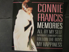 "Music CD:   Connie Francis -  ""Memories"""