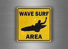 Adesivi adesivo sticker sign segnale shark danger macbook surf surfer squalo r2