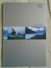 Audi Allroad Quattro brochure Sep 2000