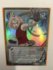 Naruto Shippuden CCG Series 20 Rainbow Foil Sakura Haruno N-1094 Bandai 1 of 20