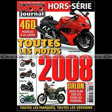 MOTO JOURNAL HS 2709 HORS-SERIE ★ CATALOGUE / TOUTES LES MOTOS 2008 ★ SALON