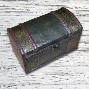 Geldtruhe Goldtruhe Schatzkiste Schatztruhe Geschenke Holz Box für Geburstag