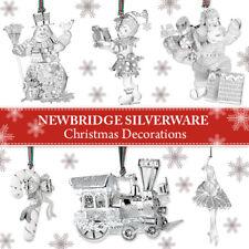 NEWBRIDGE SILVERWARE CHRISTMAS DECORATIONS - NEW IN BOX!