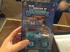Muscle machines 1/64 diecast metal MUMMY monster truck