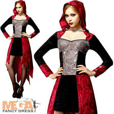 VAMPIRE DEMONE MAIDEN onorevoli Costume Halloween Diavolo Donna Adulti Costume
