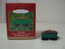 Hallmark Ornament 2000 THE TENDER Lionel Train Collector's Series NEW Steam War