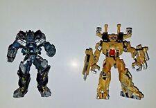 Hasbro Transformers Titanium Series IRONHIDE BRAWL TRU exclusive METAL FIGURES