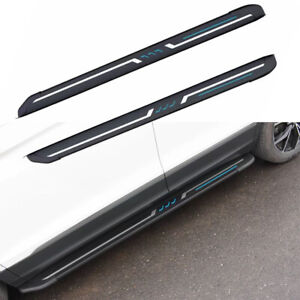 2Pcs Fits for Subaru Forester 2019-2022 Door Side Step Running Board Nerf Bar