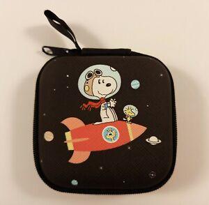 Snoopy Woodstock Peanuts - Box für Ohrhörer Kopfhöhrer USB Kabel Ear pods Tasche