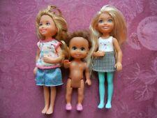 Barbie sister Chelsea threedoll lot Kelly dolls See listing (#2)