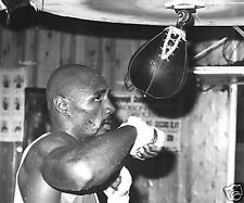 Marvelous Marvin Hagler with Speed Bag Fanta 10x8 Photo