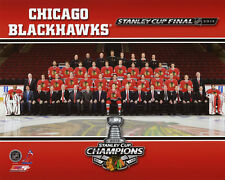 2013 Stanley Cup Champs CHICAGO BLACKHAWKS Glossy 8x10 Photo Poster Roster Print