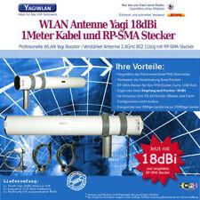 WLAN ANTENNE Yagi 18dbi 5m amplificador Booster TP-Link