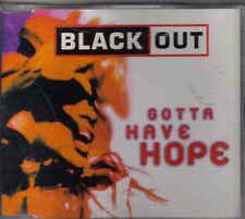 Black Out-Gotta Have Hope cd maxi single eurodance holland