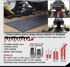 "Caliber Snowmobile Trailer Traction Bed Mat 74"" Traxmat Caliber # 13211"