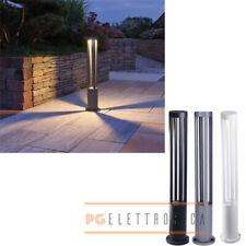 Lampione lampioncino da esterno palo illuminazione giardino 60cm 220v 10W