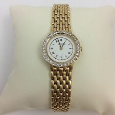 CONCORD 14K YELLOW GOLD AND DIAMONDS LADIES WATCH