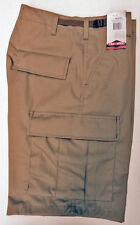 Cargo BDU Shorts - Military Style TRU SPEC Zipper Fly - Brown - MEDIUM
