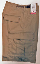 Cargo BDU Shorts Military Style TRU SPEC Zipper Fly - BROWN - XL