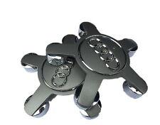 4x Caches moyeux Jantes Centre de Roue anneaux AUDI A4 A5 A6 A8 Q5 SLINE Styling
