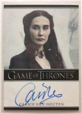 Carice van Houten Autograph as Melisandre from Game of Thrones Season 4