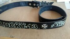 """The Original Lucky 13 Belt sz. L-38-44"""" with Dirty Devil V8 Buckle"""