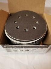 "Bona Black 5"" Sanding Disc 8 Hole (Case Of 200)"