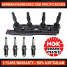 4x Genuine NGK Spark Plugs & 1x Ignition Coil for Holden Barina XC SRI