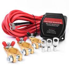 Smart 12V 140A Dual Battery Isolator VSR Voltage Sense Relay For RV Camper UTV
