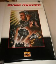 Rolled Embassy Blade Runner Video Movie Poster Harrison Ford Sean Young Gga