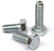 M6 x 30 Hex Head Set Screws High Tensile Grade 8.8  BZP Zinc Plated Bolt QTY 10