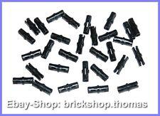 Lego Technic 30 x Verbinder schwarz - 2780 - Connector Pins Black - NEU / NEW