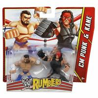 WWE Rumblers CM Punk and Kane Action Figure 2 Pack