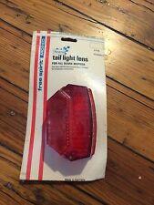 """(2) NOS Free Spirit Moped Tail Light Lens-""""For Sears Mopeds""""-* Trusted Seller"""