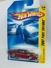 Hot Wheels 1st Edition 2007 ( 5 spoke ) ( 69 Red Mustang ) # 4 of 36