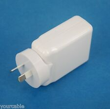 4 Port USB AC Wall Charger WHITE for iPad Pro Air mini iPhone X 8 7 6s 6 Plus SE
