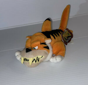 Meanies Special Edition Tiger Shark Plush Beanbag Collectible 1998