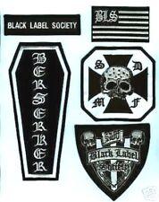 BLACK LABEL SOCIETY MEMBER FAN PATCH SERIES: BERSERKER CROSS FLAG 5-PATCH SET