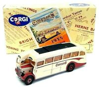 NEW - Corgi 1/50 Scale Model Bus 97181 - AEC Regal Coach - Timpsons