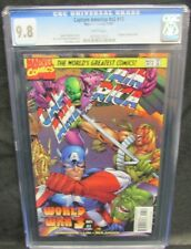 Captain America #v2 #13 (#467) (1997) Raney Cover CGC 9.8 White Pages Y559